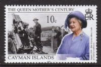 Cayman Islands SG899 1999 Queen Mother 10c. mounted mint